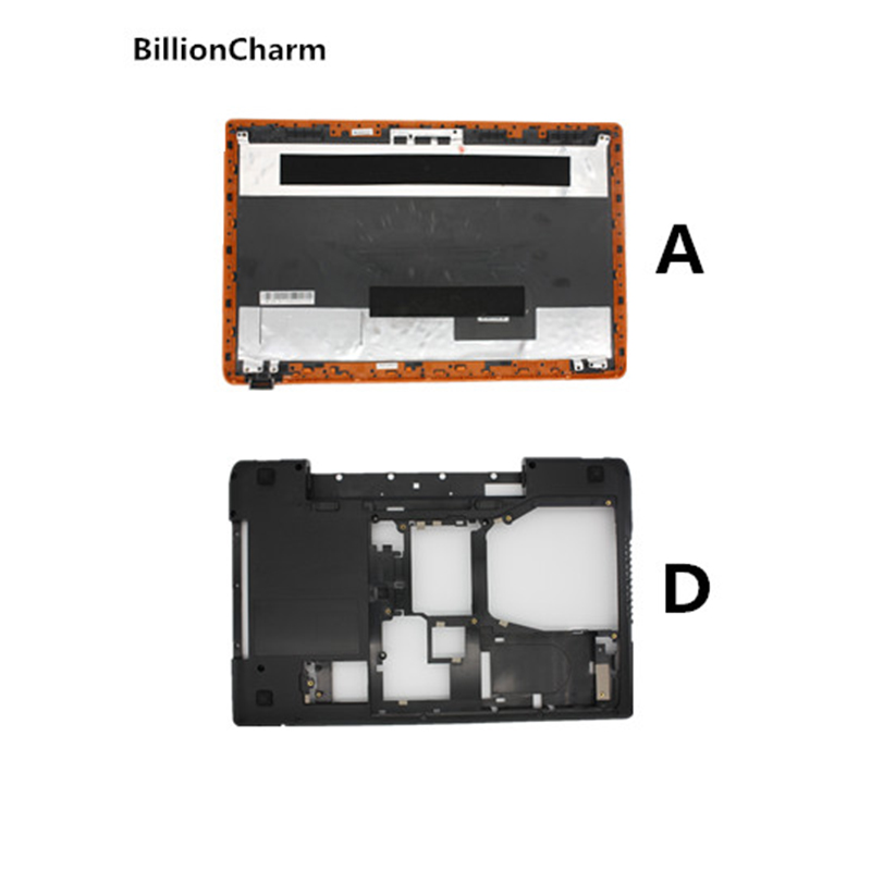 BillionCharm  New Laptop For Lenovo Y570 Y575 LCD Back Cover + Bottom Base Cover Case With Graphic Card Switch With HDMI