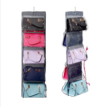 Closet Organizadores case durable door pockets fashion handbags finishing hanging bags organizer hang storage bag