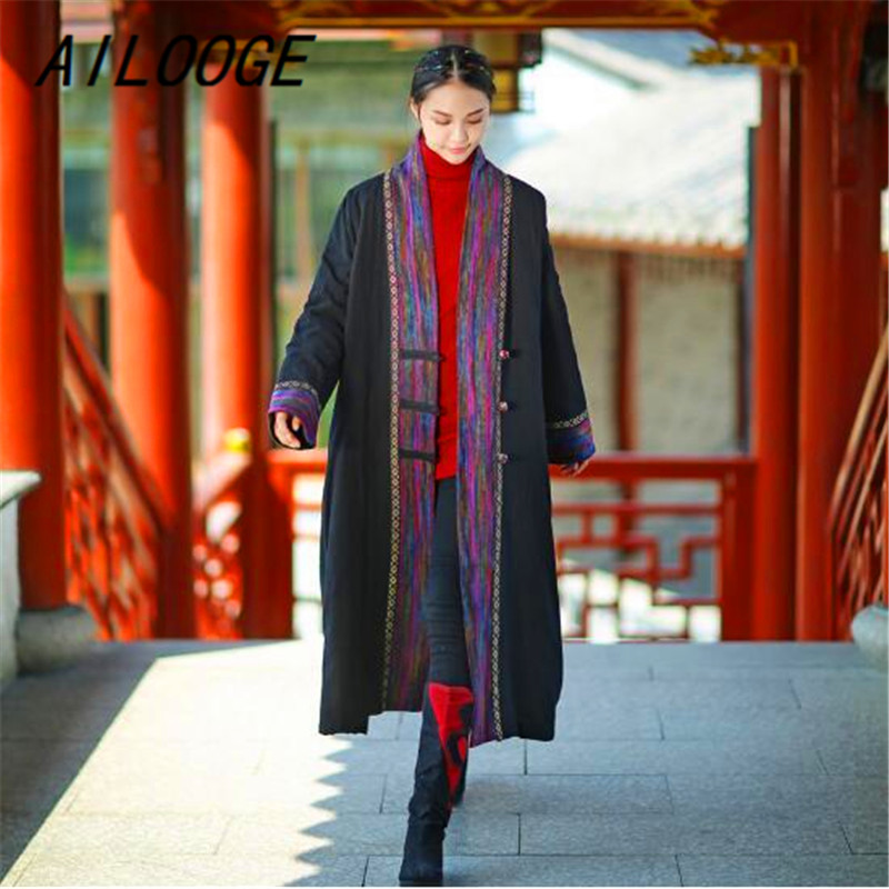 New Imprimer Veste Vintage Femmes Parka 1 3 Qualité Longues Épais De À 2018 Vêtements Chaud Manches Robe Hiver Ailooge Haute 4 2 Manteau ctUAqFWFYw