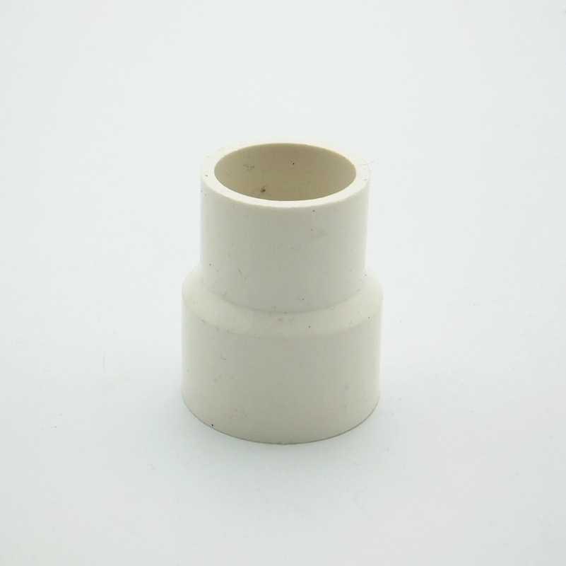 50 millimetri x 32 millimetri ID PVC Tettarelle da biberon Riduttore di Tubo Comune Tubo di Raccordo Adattatore del Connettore di Acqua Per Il Sistema di Irrigazione del Giardino FAI DA TE