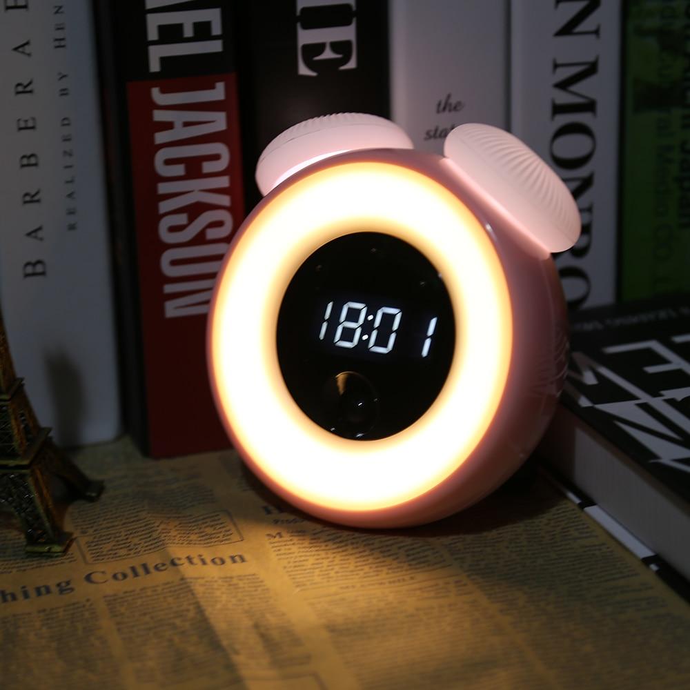 Lights & Lighting 1 Pcs Electronic Digital Led Alarm Clock Flashlight Perpetual Calendar Multifunction For Travel Clh@8