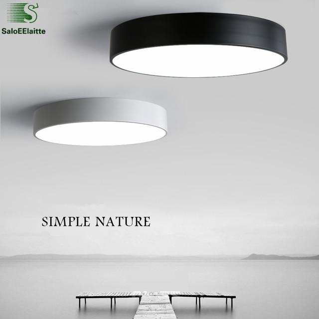 Fabulous Modern Minimalisme Ronde Metalen Dimbare Plafondverlichting Led LC52