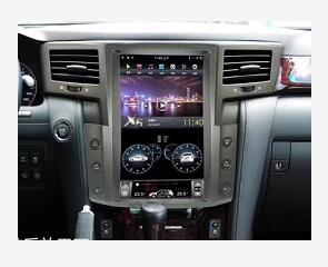 CHOGATH 13.6 ''android  Vertical Screen System 2+32G Car Radio GPS Multimedia Stereo For Lexus  LX570 2013
