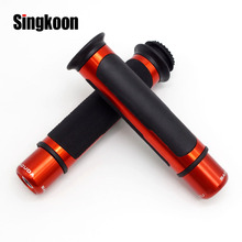 Universal 7/8 22MM Motorcycle handlebar grips CNC Scooter Handle Bar Grips Ends FOR PIAGGIO X10 500 350 MP3 L T400 le 4