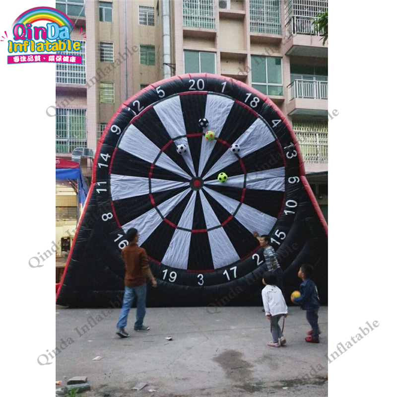 Giant inflatable soccer dart board,party kids inflatable foot darts for sale,custom risk dart board game football dart dart board white writing tablet w 2 dart pen multicolor