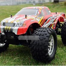 Free Shipping HSP BISON 94188 1/10 Scale 3.0cc Nitro Engine Power 4WD off-Road Monster truck , High speed Rc Car for Hobby