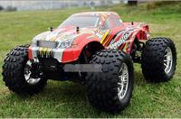 Free Shipping HSP BISON 94188 1/10 Scale 3.0cc Nitro Engine Power 4WD off Road Monster truck , High speed Rc Car for Hobby
