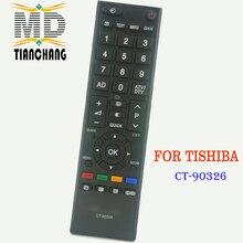 Nowy zamiennik zdalnego sterowania CT 90326 dla TOSHIBA 3D SMART TV CT90326 CT 90380 CT 90386 CT 90336 CT 90351