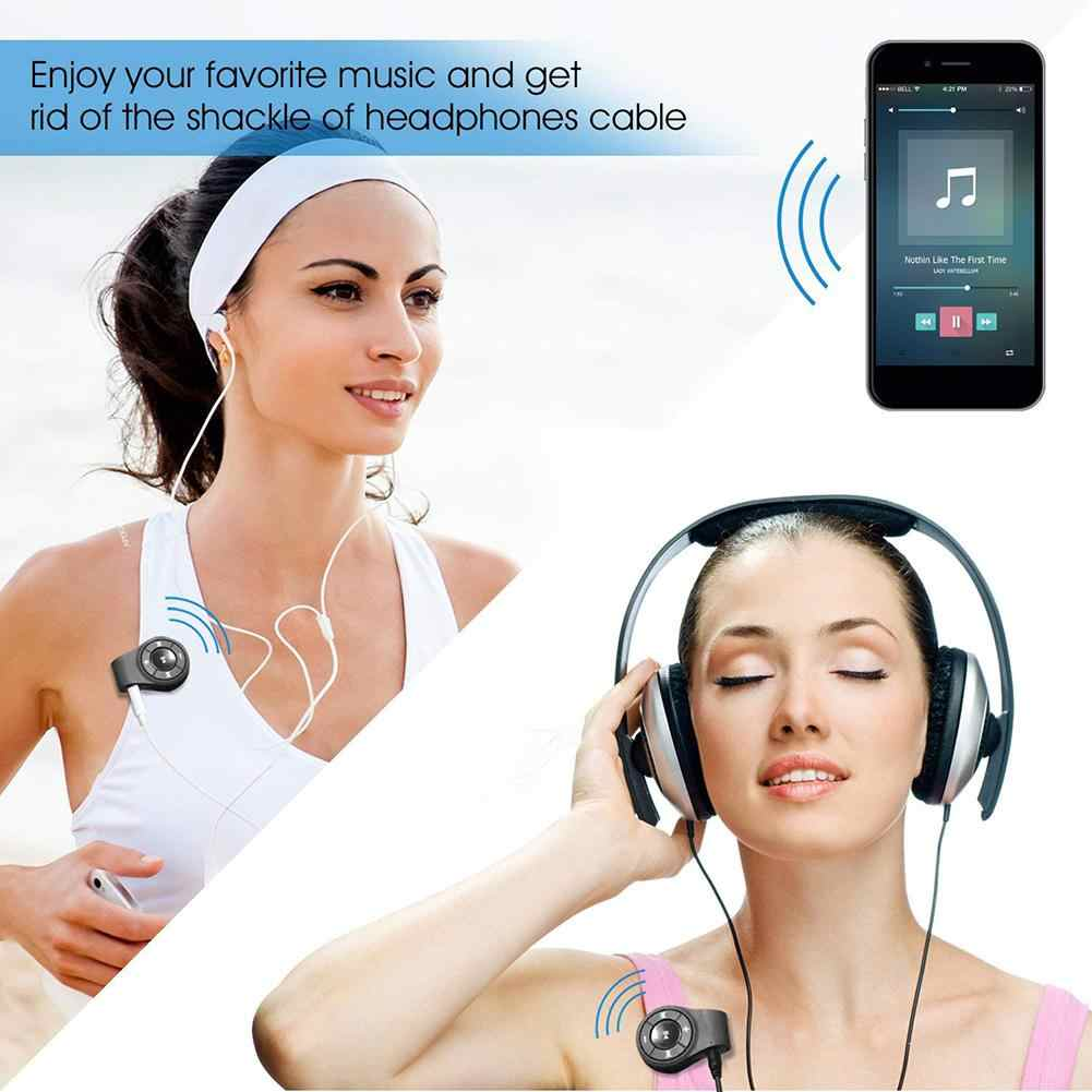 Acekool клип Bluetooth адаптер аудио для наушники гарнитуры Динамик Беспроводной ресивер с микрофоном для громкой связи и музыка r20