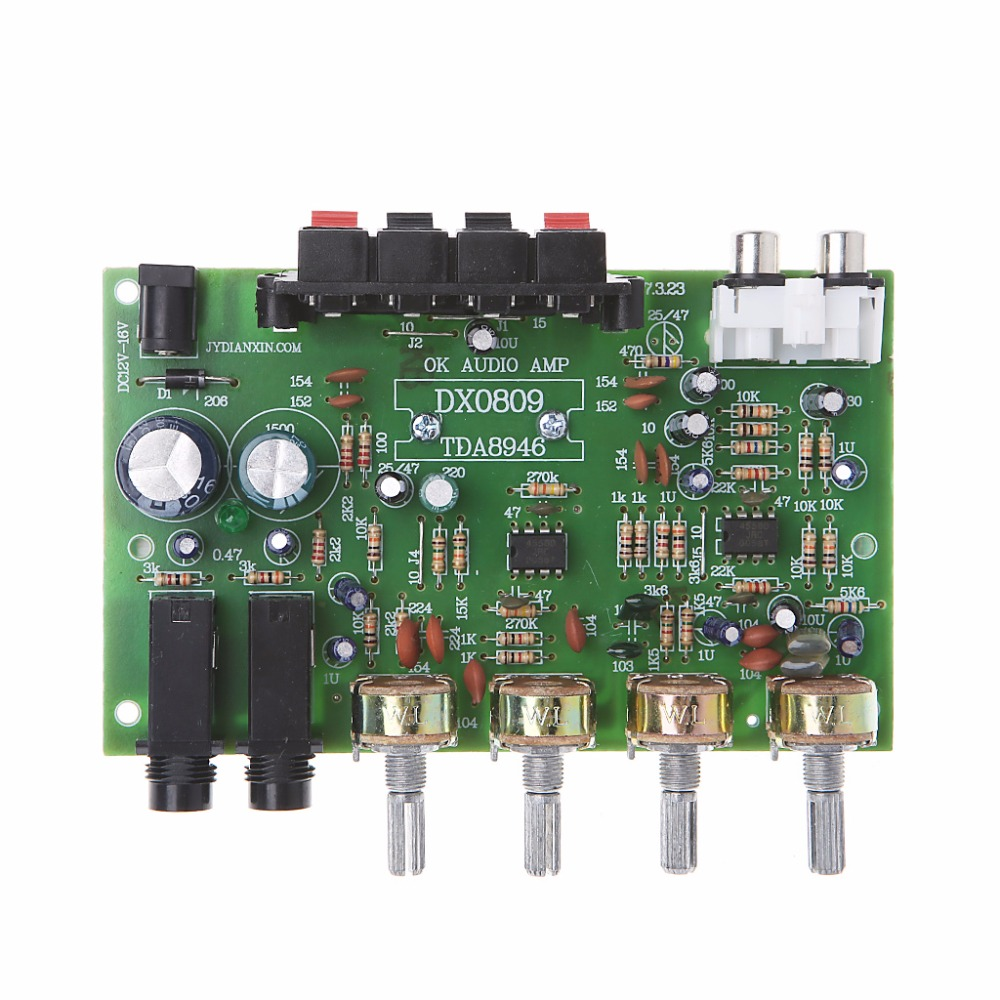 12V 60W Stereo Digital Audio Power Amplifier Board Electronic Circuit Module DIY - L060 New hot