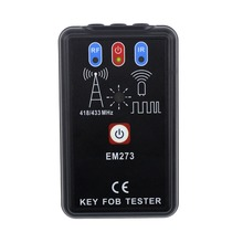 LED Key Fob Frequency Tester Checker Finder Wireless Radio Frequency Remote Control EM273 ALL SUN