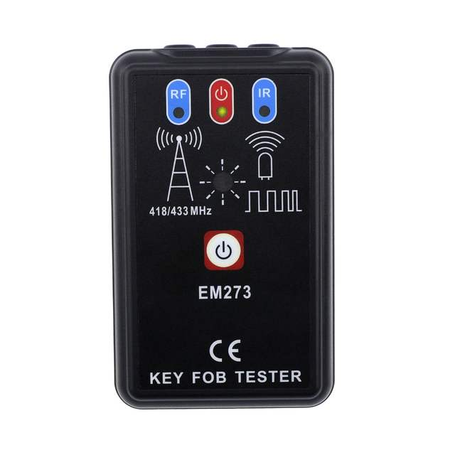 LED Key Fob Frequency Tester Checker Finder Wireless Radio Frequency Remote  Control EM273 all-sun 23fe27233e54