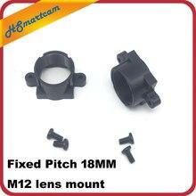 Attacco obiettivo M12 ABS supporto obiettivo fotocamera supporto obiettivo ABS passo fisso 18MM CY 12x0.5(18mm)B