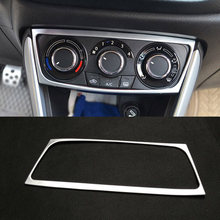 Автомобильный хромированный интерьер кондиционера кнопка управления