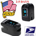 USA STOCK! FDA CE Gentle Black CMS50D SPO2 Blood Oxygen Saturation Finger Pulse Oximeter Fingertip Oxygen Monitor