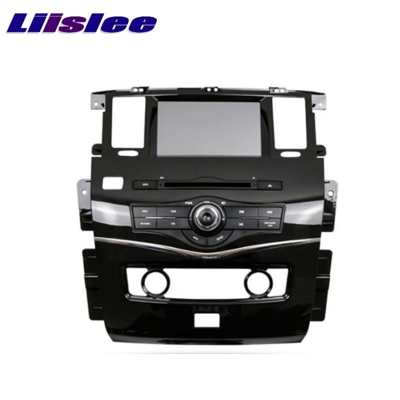 For Nissan Patrol Y62 2007~2017 LiisLee Car Multimedia TV DVD GPS Audio Hi Fi Radio Original Style Navigation Advanced NAV INAVI