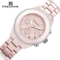 Timesshine TSL1434A Ceramic Clock Women Top Brand Luxury Male Quartz Ladies Watch Relojes Mujer Montre Femme
