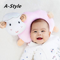 A Style Baby Pillow With Sounds U Pillow Type Anti Migraine Correction Neonatal 0 1 Years