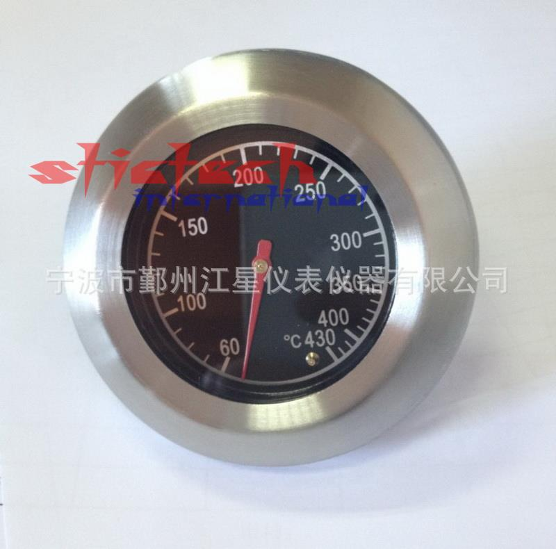BBQ Smoker Grill Stainless Steel Thermometer Temperature Gauge 60