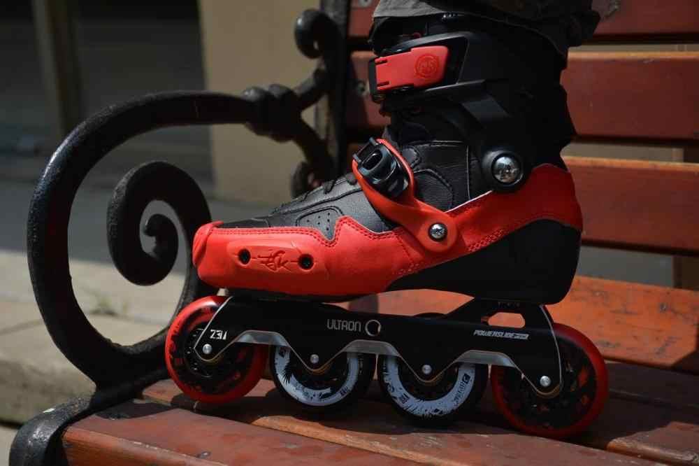 8 pçs/set 72/76/80mm 88APU Roller Skate Rodas com Rolamentos de Patins Inline Rodas