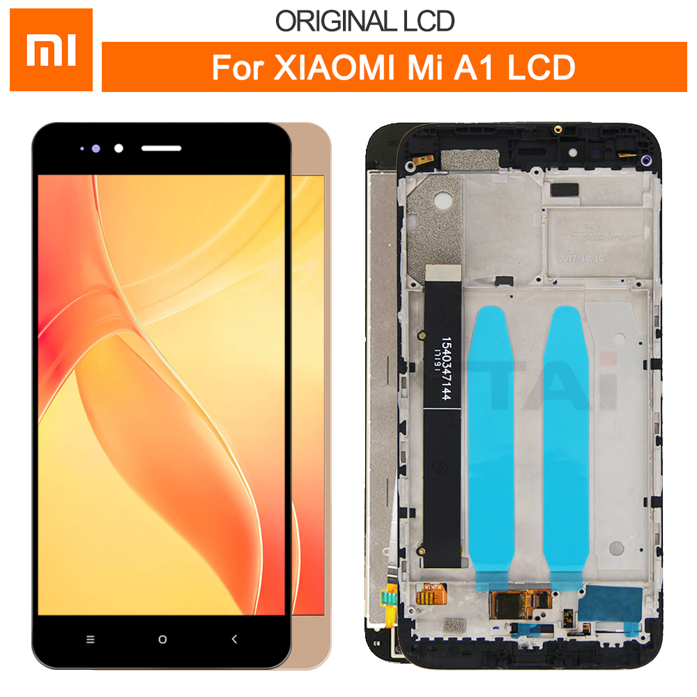 Xiaomi Touchscreen Lcd-Display Repair-Parts 10-Touch-Panel Mi-A1 Digitizer For 5X