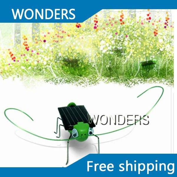 Groothandel Solar Sprinkhaan Insect Bug Moving Toy, Mooie Grappige Mini Solar Toy Insect Onderwijs Fun Gadget Speelgoed Gift Van Het Grootste Gemak