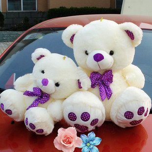 60cm Christmas gift teddy bear plush toys soft t stuffed toys factory supply freeshipping