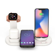 Wireless Charger Stand, 3 in 1 Mobile Phone Charging Stand,Mobile Watch Bluetooth Headset Base