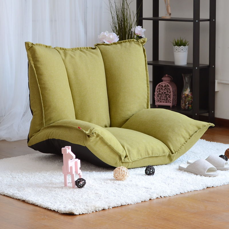 Floor sofa folding adjustable floor chair sleeper chair for Chaise longue interieur
