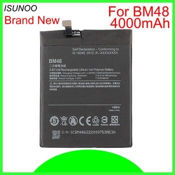 ISUNOO 10pcs/lot 4000mAh BM48 Battery Replacement For Xiaomi Mi Note 2 Battery