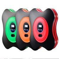 Digital Inflatable Pump Electric Tyre Pressure Monitor Compressor PortablePSI12V Air Pumping Tire Pumps for Bike Motor Ball