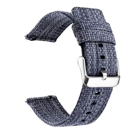 18/20/22/24 mm Width Quick Release Watch Band General Common Use Fine Woven nylon Watch Bands Strap Multan