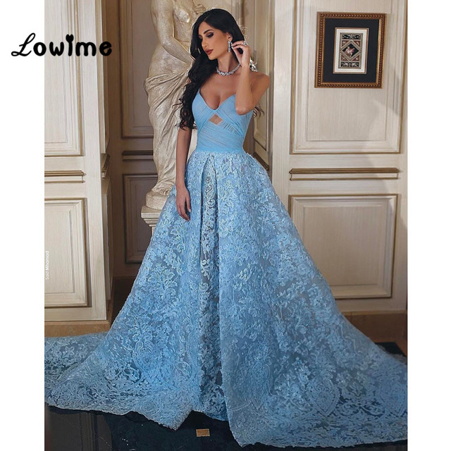 sexy burgundy muslim long baby blue lace formal evening dress turkish engagement prom evening. Black Bedroom Furniture Sets. Home Design Ideas