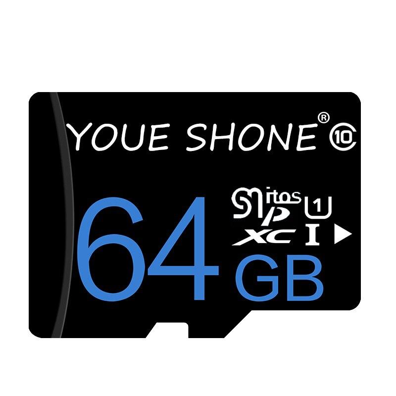 Высокая Скорость карты памяти Class10 SDXC/SDHC карт micro sd 128 GB/64 GB/32 GB/16 GB/8 GB micro sd карты для Видеорегистраторы для автомобилей с бесплатным адаптер