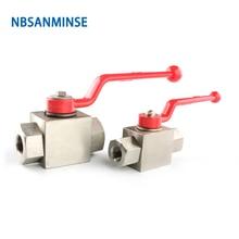 KHB-G1/4-SS316  Hydraulic Valve with viton Ningbo Sanmin (NBSANMINSE) Hydraulic Valve цена