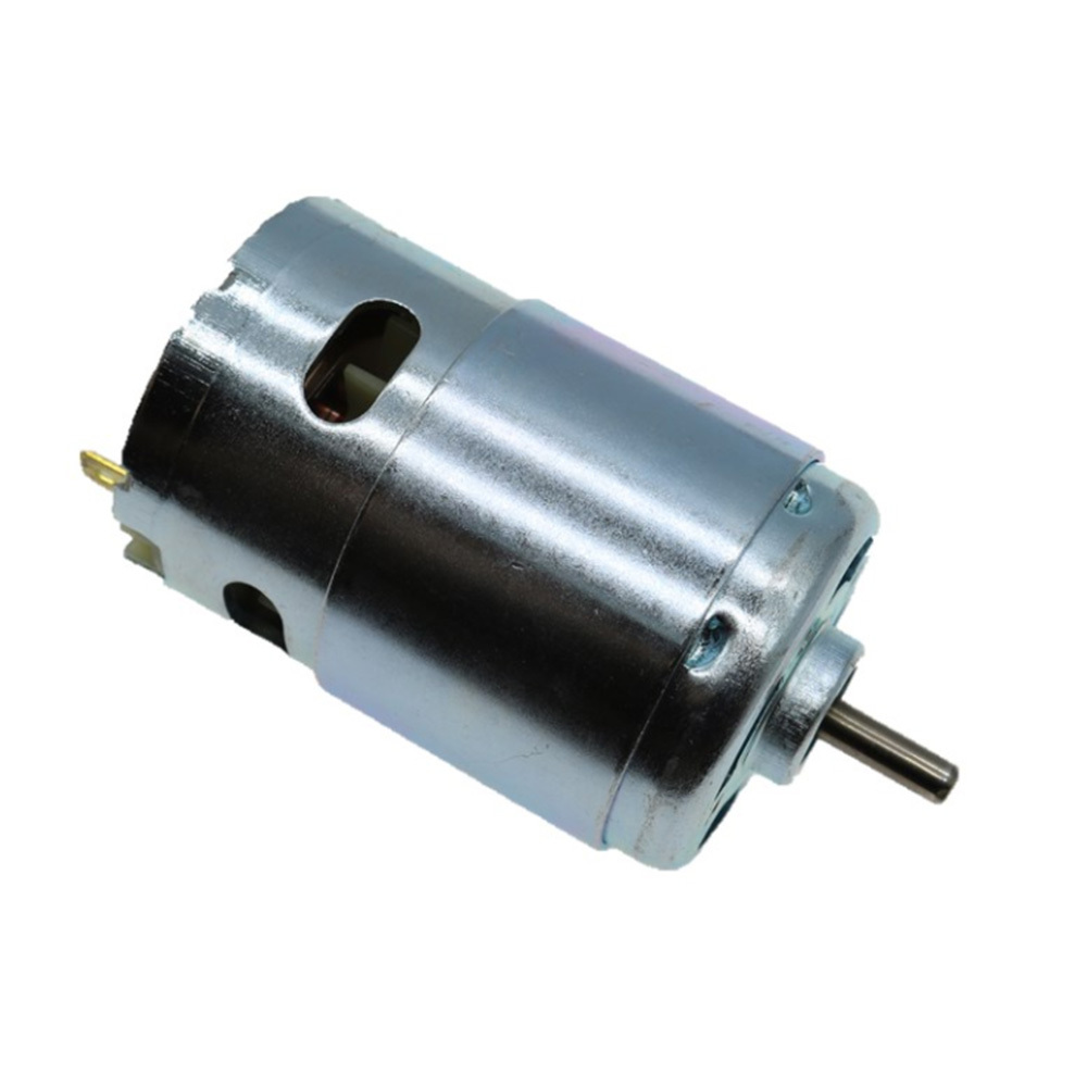 DC 12V-24V Large Torque Motor High-power Low Noise 895 Motor Double ball bearings Low Speed 3000-6000RPM Upgrade Motor image