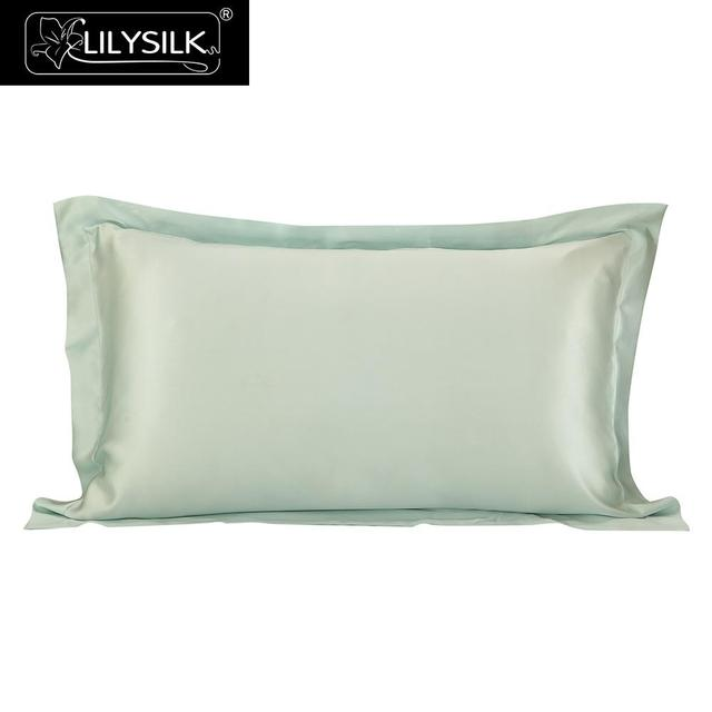 Lilysilk Pillowcase Silk 40 Momme Oxford Hair Natural 40 Pillow Adorable Envelope Pillow Cover With Flange