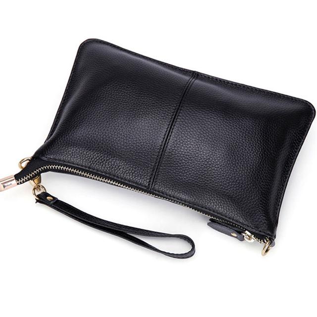 Mynos Fashion Genuine Leather Evening Crossbody Bag For Women Messenger Bag Lady Shoulder Bag Female Purse Day Clutch Sac A Main