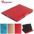 TopArmor Tab S2 9.7 T810 Case Emboss Dandelion PU Leather Wallet Flip Folio Cover Case for Samsung TabS2 9.7 T815 T810