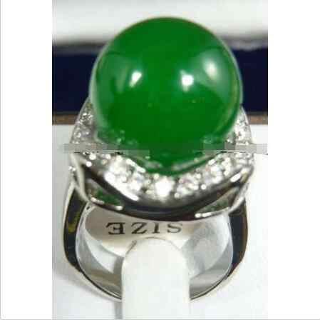 ขายส่งราคา16new ^^^^สีเขียวแหวนหยกขนาด: 7: 8: 9 AAA