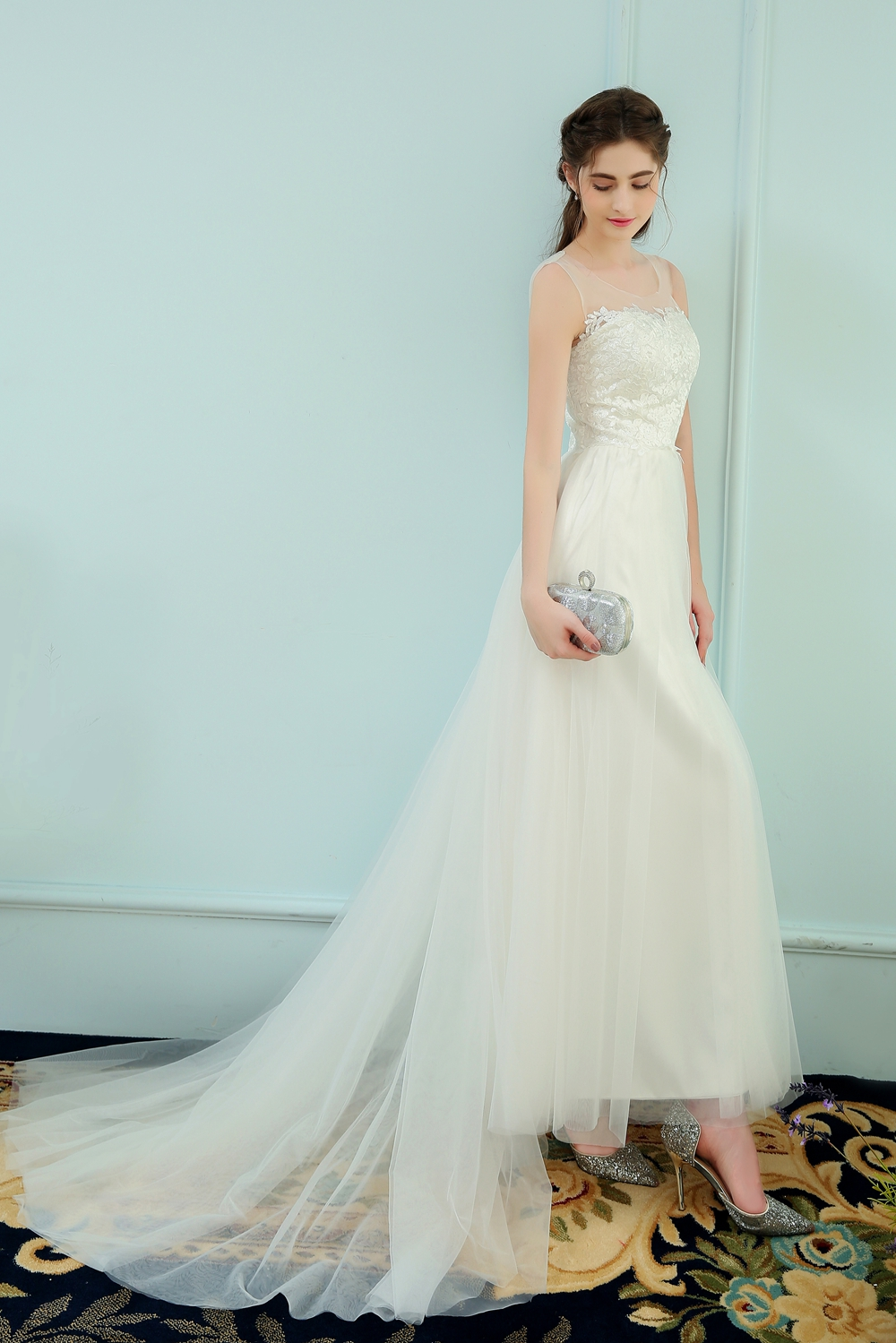 Modern Vestido Novia Bilbao Component - Wedding Dress - googeb.com