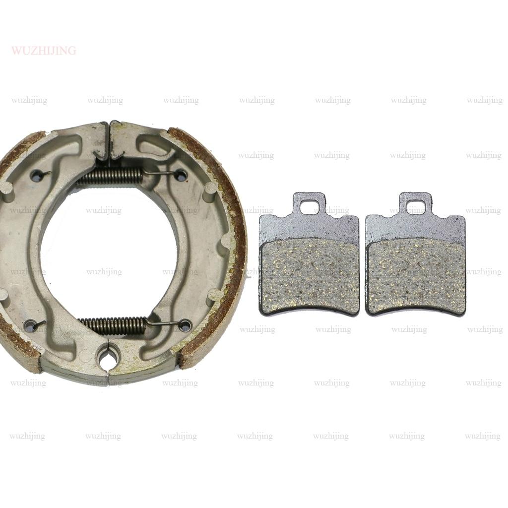 Rotor Brake Pads Set Shoe fit for MALAGUTI 50 Booster N9 (01) Stunt (00) 50 BW Original Naked (00-15) BWS Original (00-17)