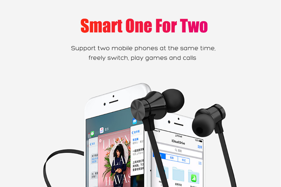 Wireless Headphone Bluetooth Earphone Magnetic Headset Neckband Sport Running Bluetooth Earphones For iPhone 7 X Xiaomi Earphone (7)