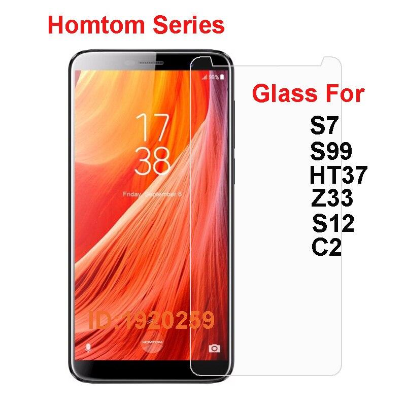 Homtom S7 S99 HT37 S12 C2 Zoji Z33 Tempered Glass Protective Film Explosion-proof Screen Protector For Homtom Zoji Z33(China)