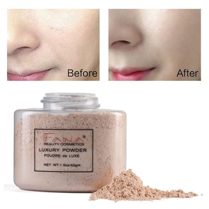 Image 4 - Face Foundation Powder Oil Control Contour Full Cover Long Lasting Banana Translucent Mineral Makeup Professional Base Matte