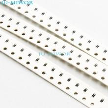(1000pcs/lot) 620K  680K  750K  820K  910K ohm Ohms 0603 5% SMD Chip Resistor Thick Film 1/10W Chip Fixed Resistor