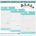1 unids/lote Fancy Nail Lace Stickers Decals Traslados Novia BLANCO Del Diseño Del Cordón