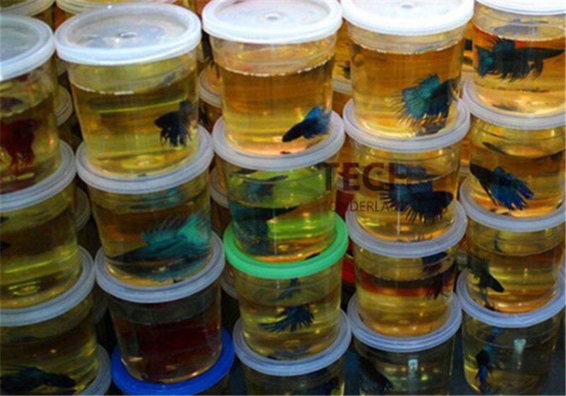 High Quality Betta House Mini Fighting Betta Fish Tank Aquarium (Fish Not Included) Peceras Para Bettas Tank