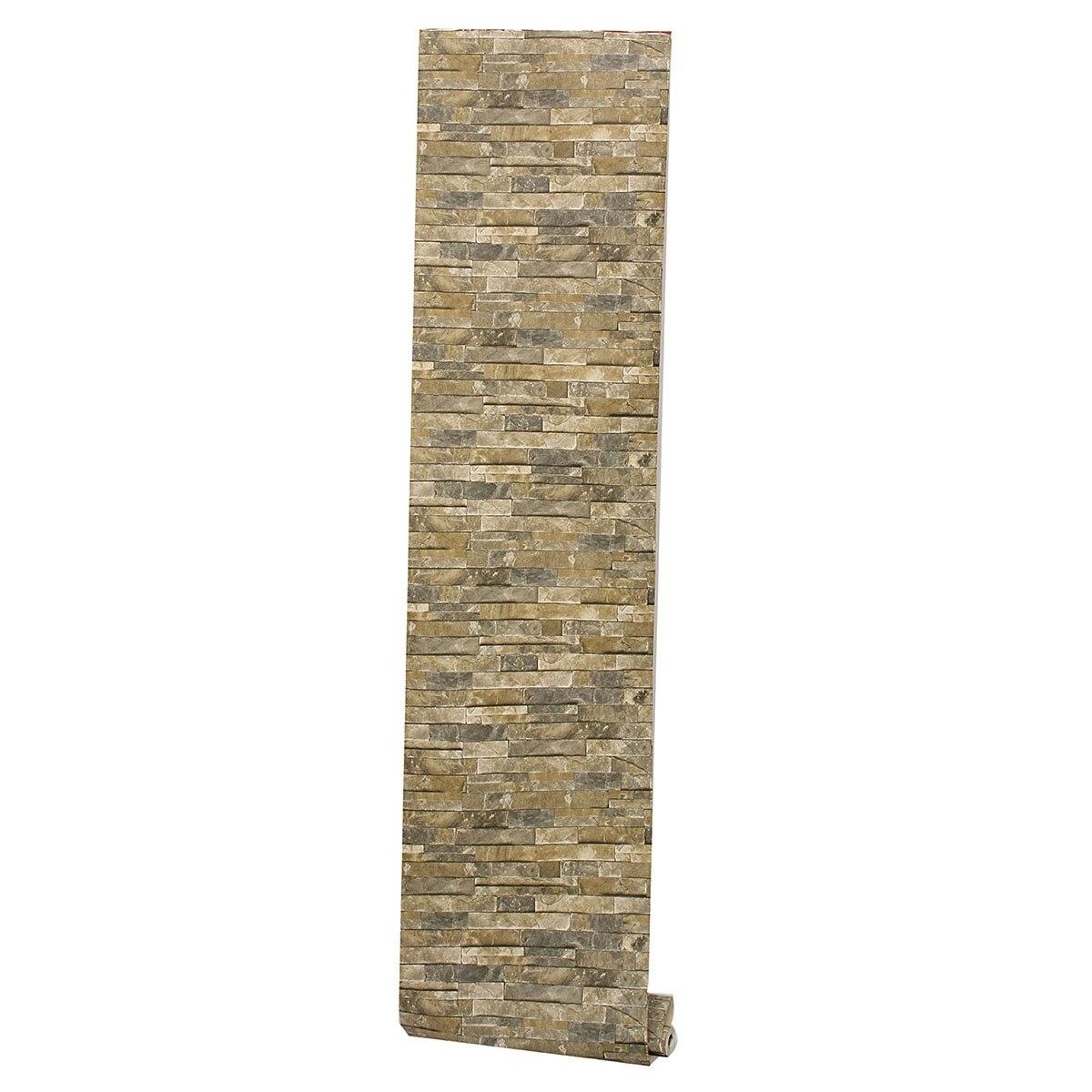 Achetez en gros empil s pierre papier peint en ligne des grossistes empil s pierre papier - Papier peint effet pierre 3d ...