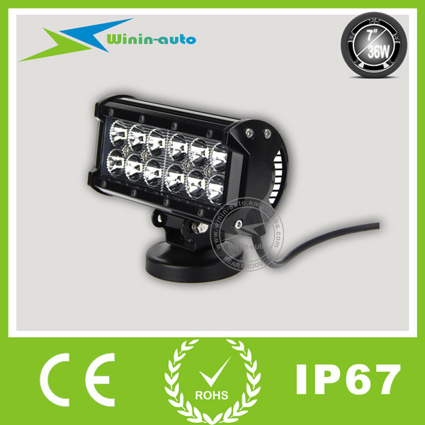 7inch 36W Cree LED Light Bar IP67 For Jeep 2800 Lumen WI9022 36 Diy  Waterproof